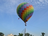 The first international hot air-balloon festival Viet Nam - Binh Thuan