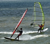 Int'l windsurfing event begins in Phan Thiet